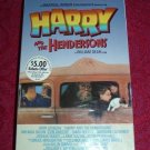 VHS - Harry and the Hendersons Rated PG