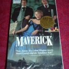 VHS - Maverick Rated PG starring Mel Gibson and Jodie Foster