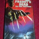 VHS - Freddys Dead The Final Nightmare Rated R