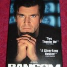 VHS - Ransom Rated R starring Mel Gibson and Rene Russo