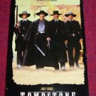 VHS - Tombstone Rated R starring Kurt Russell and Val Kilmer
