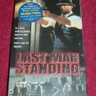 VHS - Last Man Standing Rated R starring Bruce Willis