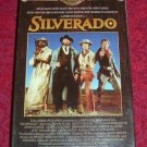 VHS - Silverado Rated PG-13 starring Kevin Kline and Danny Glover