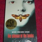 VHS - The Silence of the Lambs Rated R starring Jodie Foster and Anthony Hopkins