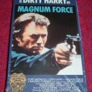 VHS - Magnum Force Rated R starring Clint Eastwood