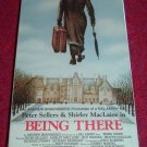 VHS - Being There Rated PG starring Peter Sellers and Shirley MacLaine