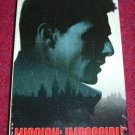 VHS - Mission Impossible Rated PG-13 starring Tom Cruise