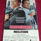 VHS - Red Heat Rated R starring Schwarzenegger and Belushi