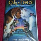 VHS - Cats and Dogs Rated PG starring Jeff Goldblum
