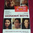 VHS - Wonder Boys Rated R starring Michael Douglas, Tobie Maguire, Robert Downey Jr.