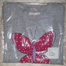 Toddler Girls Butterfly Graphic T Shirt from Hanes Size 4T
