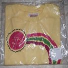 Toddler Girls Rainbow Graphic T Shirt from Hanes Size 4T