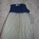 Toddler Girls Yellow Floral Print Dress Size 2T