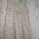 Toddler Girls Cotton Knit Floral Dress Size 3T