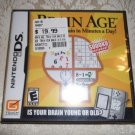 Brain Age Game for  Nintendo DS