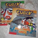 Paperback - Two Cubix Robots For Everyone Books: Lights, Camera, Robots and The Unfixable Robot