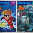 Paperback – Step Into Reading Books – The Incredible Dash and Chicken Little The Sky Is Falling!
