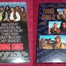 VHS - Young Guns and Young Guns II