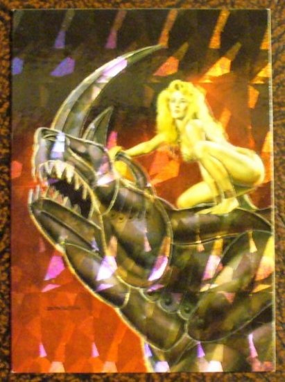 BORIS with JULIE Special Insert Chromium Card