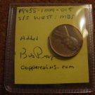1945 S CONECA: RPM-015 Lincoln Wheat Cent