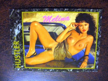 HUSTLER Trading Card 1992 #28  (Melina)