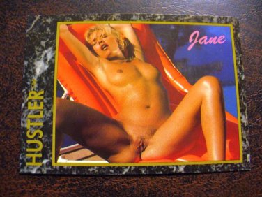 HUSTLER Trading Card 1992 #17 (Jane)