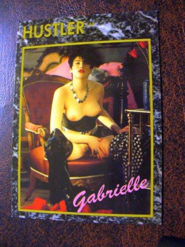 HUSTLER Trading Card 1992 #92 (Gabrielle)