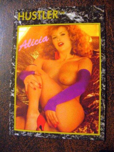 HUSTLER Trading Card 1992 #70 (Alicia Monet)