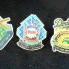 Unocal 76 25th Anniversary Dodger Stadium Pins