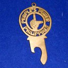 Peoples Power Philippines Bottle opener Key chain Brass