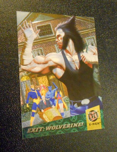 94 Fleer Ultra X-MEN Fatal Attractions 6 of 6 card