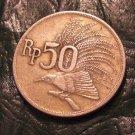 1971 INDONESIA 50 Rupiah Rp km#35