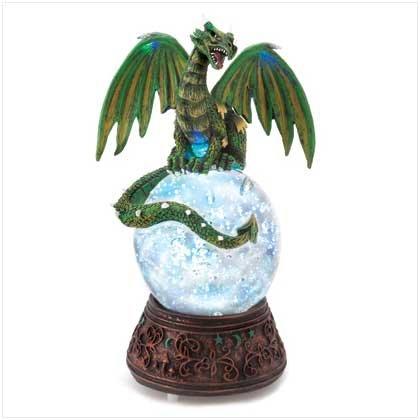 Dragon Sphere Water Globe #13253