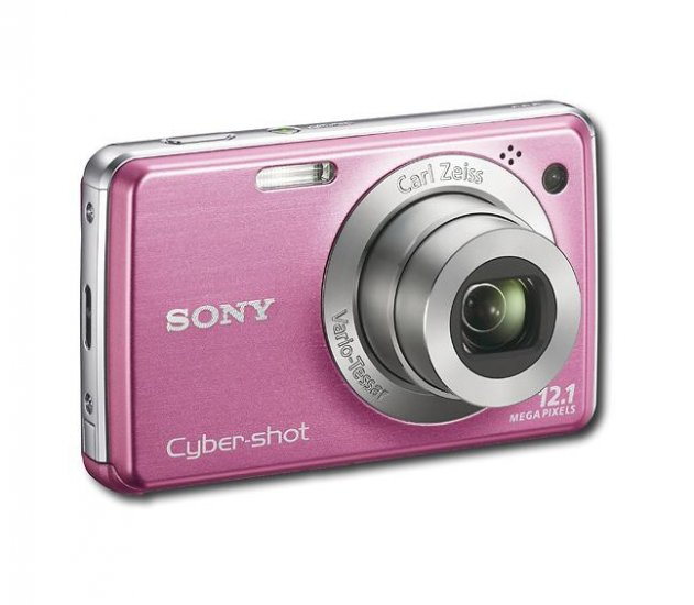 Sony - Cyber-shot 12.1-Megapixel Digital Camera - Pink