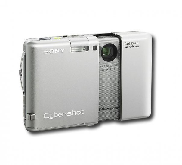 Sony - Cyber-shot 6.0MP Digital Camera 2GB - Silver ! SALE !