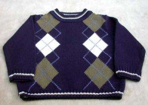 "Toddler ""IMP2 Originals"" Boy Sweater Navy Size 3T"