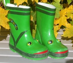 Toddler Boots Kidorable with Face Size 7T
