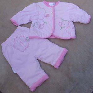 Infant Jacket and Pants  3-6mo Vitamins baby