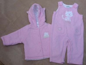 Girls Infant Pant and Coat - 12M  Koalababy