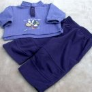 Infant Sweat Set  6/9Mo Peek a Babe