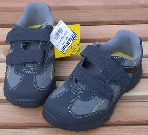 Toddler Athletic Shoes Blue Size 10 1/2 Smart Fit NWT