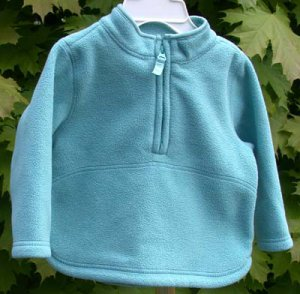 Toddler/Infant Fleece Top Old Navy  Turquoise 12-18 mo