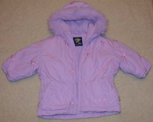 Toddler Girls Jacket Oshkosh Lavender 12mo