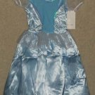 "Cinderella Party Dress Dress-up ""Satin"" Sequins and Velour Size 4"