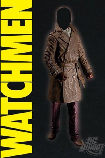 WATCHMEN MOVIE-RORSCHACH (UNMASKED) VARIANT ACTION FIGURE