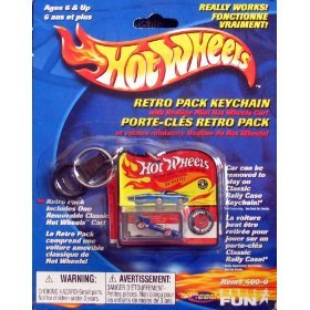 Hot Wheels Retro Pack Keychain - El Rey Special
