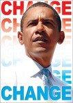 PRESIDENT OBAMA CHANGE MAGNET
