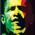 PRESIDENT OBAMA ONE LOVE MAGNET