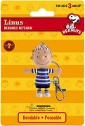 PEANUTS - LINUS BENDABLE,POSEABLE FIGURE WITH KEYCHAIN