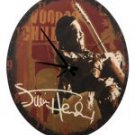 "JIMI HENDRIX-JIMI VOODOO CHILD 13.5 "" DECO WALL CLOCK"